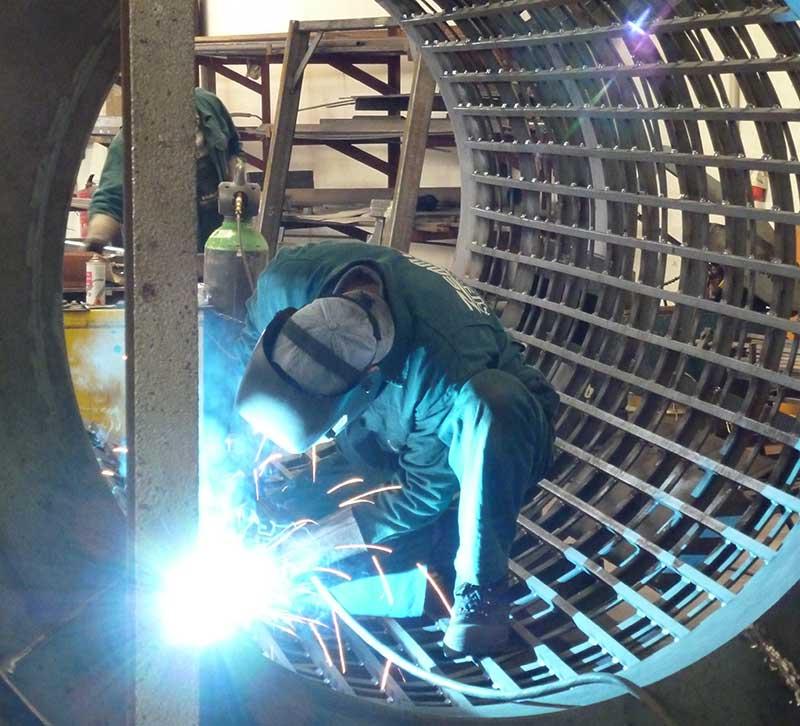 Produktion – Doppeltrommel-Siebanlage – Zemmler Siebanlagen GmbH